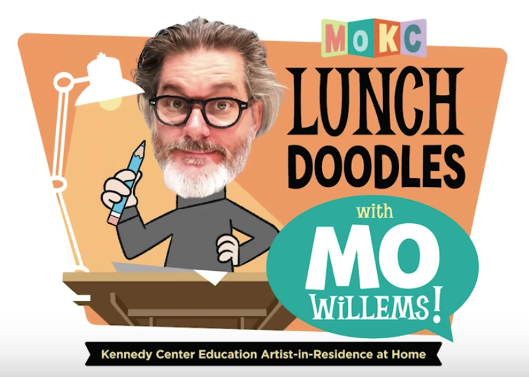 Logo: Lunch Doodles with Mo Willems