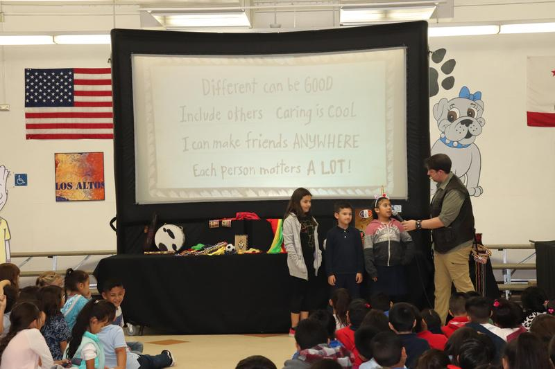 NED's Kindness Adventure Comes To Los Altos Elementary Featured Photo