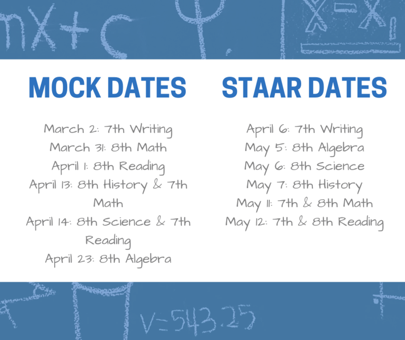 Mock & STAAR Testing Dates Featured Photo