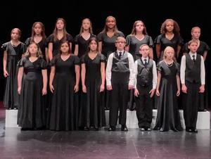 PRMS Choir members