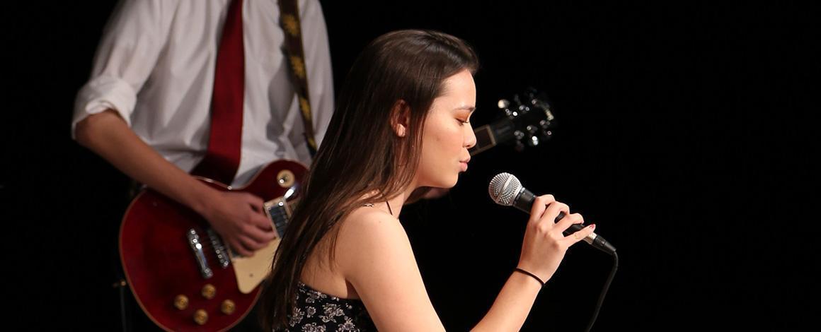 Honors Music Recital 2019 female vocalist