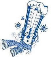 winter thermometer temperature