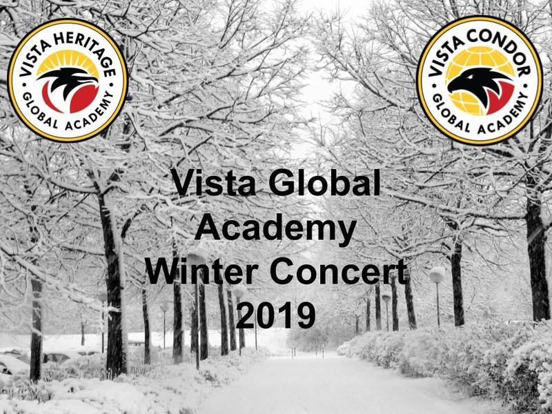 Vista Global Academies Winter Concert 2019 Featured Photo