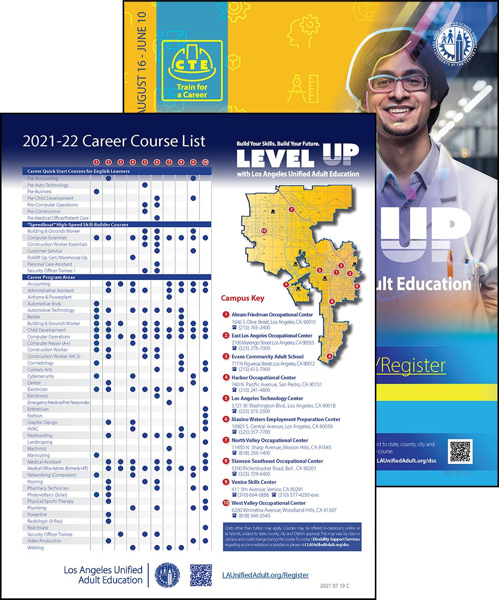 Career Technical Education Flyer - Program Area - Cover 06