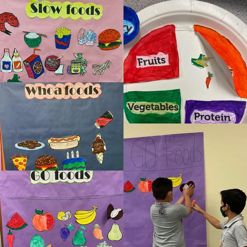 Mrs. Vasquez's migrant class learning about nutrition Featured Photo