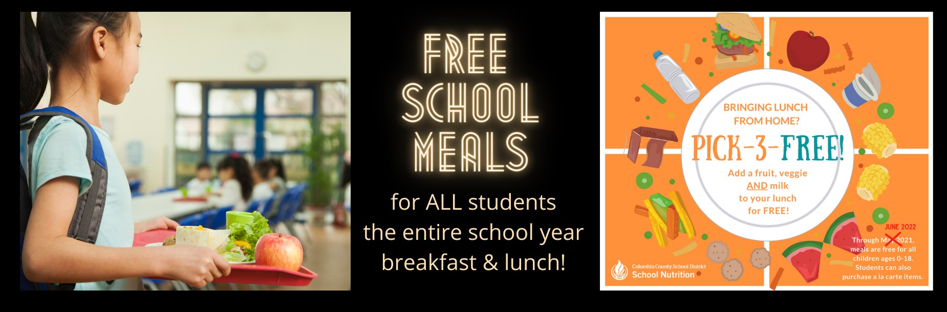 free meals 2021-22