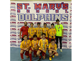 CSJ indoor ⚽️ Juvenil CAMPEÓN 🏆 - St. Mary's School Thumbnail Image