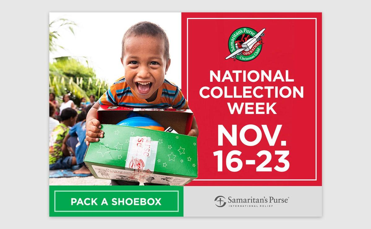 On November 5th, Crestview Middle Student Council kicked off their Samaritan's Purse Christmas Child Shoe Box campaign.  National collection week is November 16th-23rd. Crestview Middle's shoeboxes need to be filled and ready by November 19th.  The students are collecting for children in areas of our world that don't have needed supplies. Each homeroom class was provided a shoe box for each teacher that needs to be filled. Every homeroom decides if they want to fill a box for a boy or a girl.  Some items that can be put in the shoe box are crayons, small hot wheels cars, toothbrushes, pencils, pencil cases, coloring books, small toys, sunglasses, barrettes, headbands, bar soap, washcloths, color pencils, scissors, etc.  To find out more about Samaritan's Purse, please watch the videos below. One video provides the purpose and the package of the shoe box another video is about packing, what goes in, and following your shoebox. Remember the items need to be brought to the school by November 19th. Thank you for all of your help!  Video resources include:  About Samaritan's Purse Promotional 2020: https://video.samaritanspurse.org/operation-christmas-child-overview-2020-promo/  How to Pack the Shoebox: https://www.samaritanspurse.org/operation-christmas-child/pack-a-shoe-box/  What Goes Into the Shoebox: https://www.samaritanspurse.org/operation-christmas-child/what-goes-in-my-shoebox-suggestions/  Follow your Box Labels: https://www.samaritanspurse.org/operation-christmas-child/follow-your-box/  Student Council wants to thank everyone who do donate to the Samaritan's Purse Christmas Child Shoe Box Campaign.