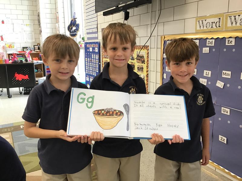 Holy Cross Kindergarten Class Named Finalists in National Book Challenge Featured Photo