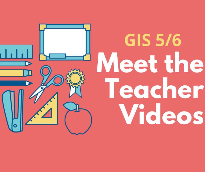 Meet the teacher videos