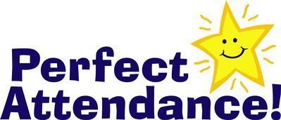 Perfect Attendance Award Winners