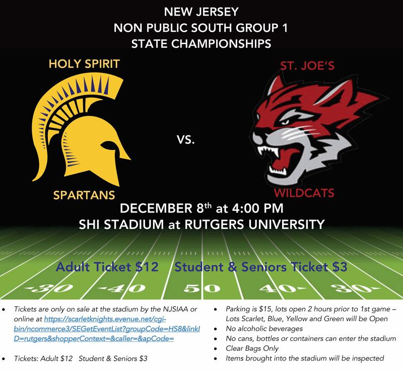 STATE CHAMPIONSHIP GAME - GO SPARTANS! Featured Photo