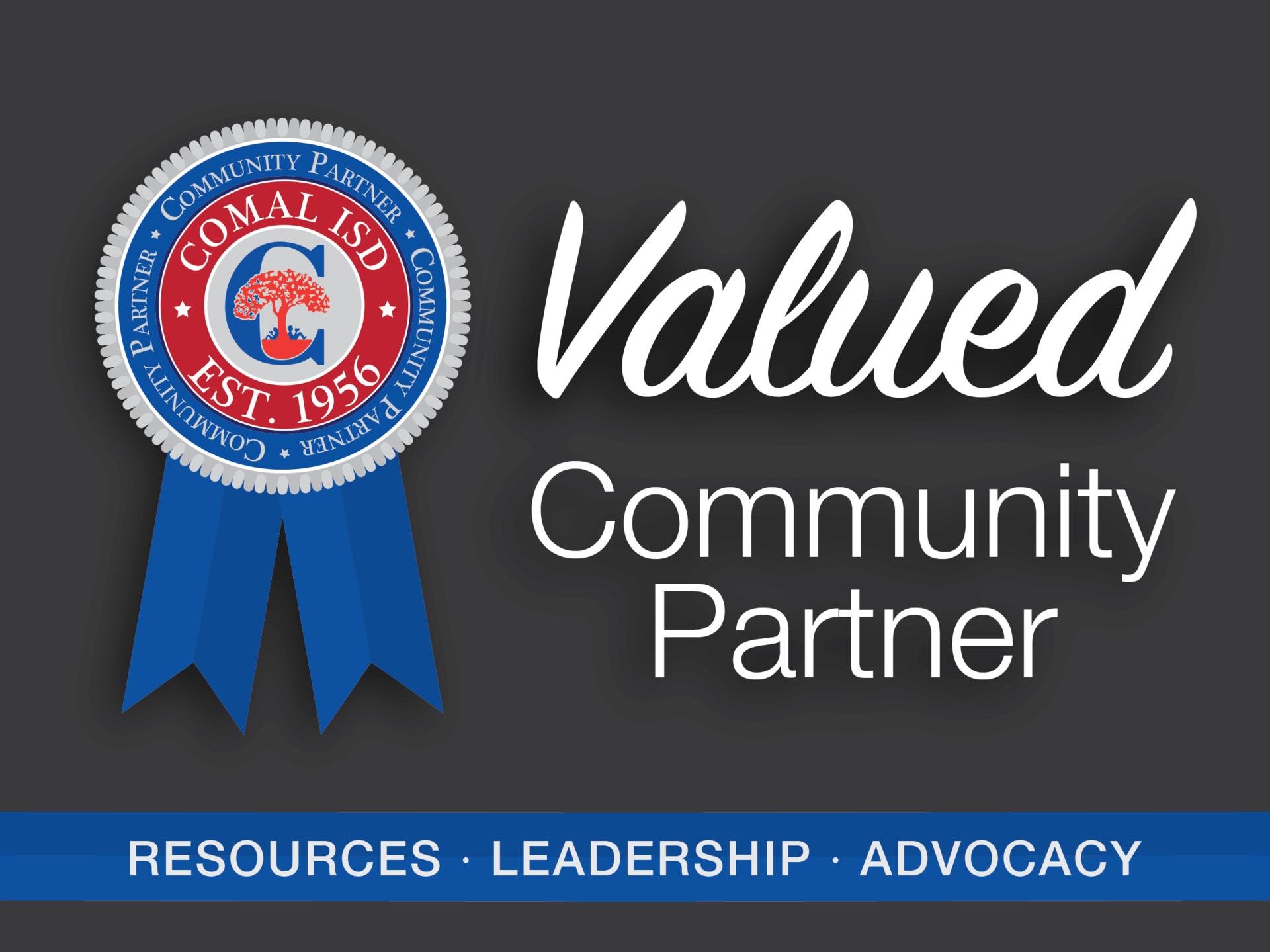 Valued Community Partner