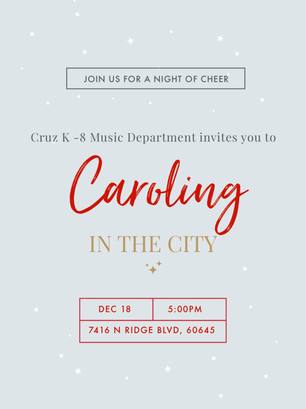 Caroling In the City Featured Photo