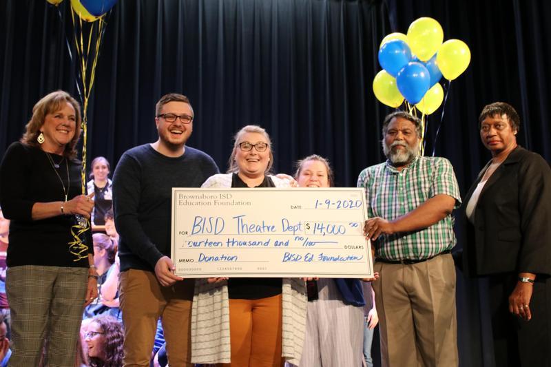 Education Foundation surprises theater department Featured Photo
