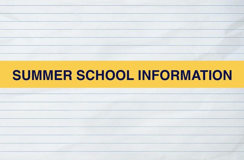 Summer School 2020 Information Featured Photo