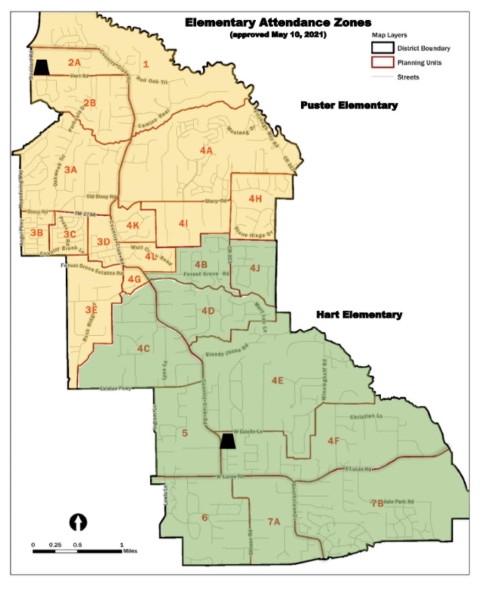 Elementary Zones 2021-2022