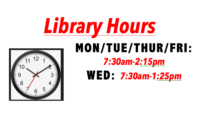 Change in Library Hours Featured Photo