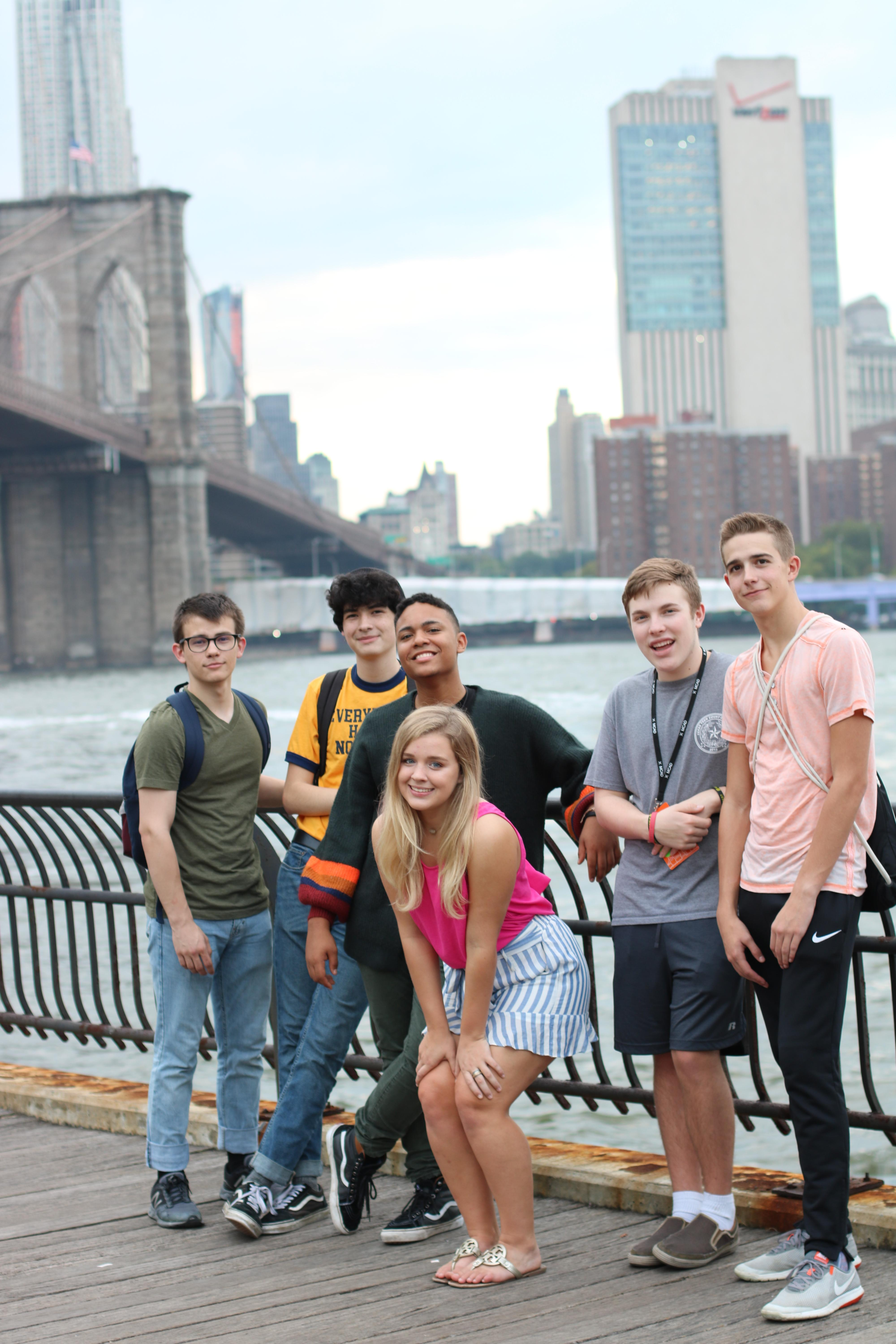 Brewer High School Audio/Video Production students Braxdon Cannon, Joel Seawright, Kiersten Hart, Marcus Martinez, Scott Ellis and Donnell Hale recently attended the All American High School Film Festival in New York City.