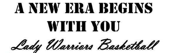 Lady Warriors Basketball - TRYOUTS Thumbnail Image