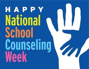 School counseling week logo
