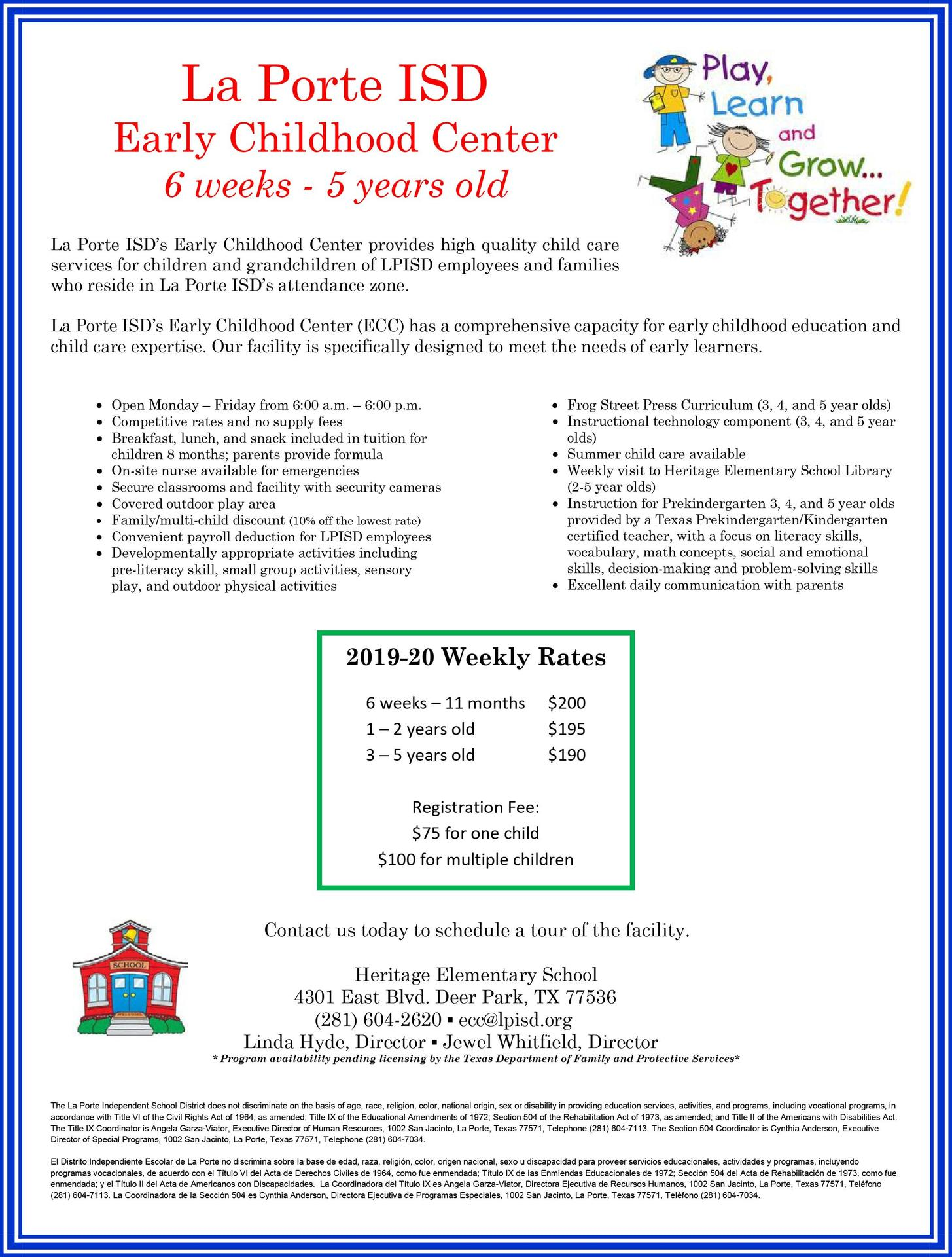 La Porte ISD Early Childhood Center