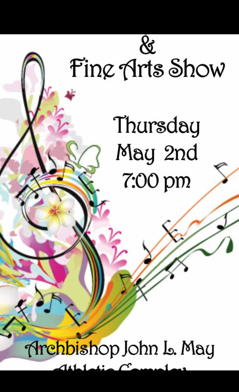 Spring Band Concert  & Fine Arts Show