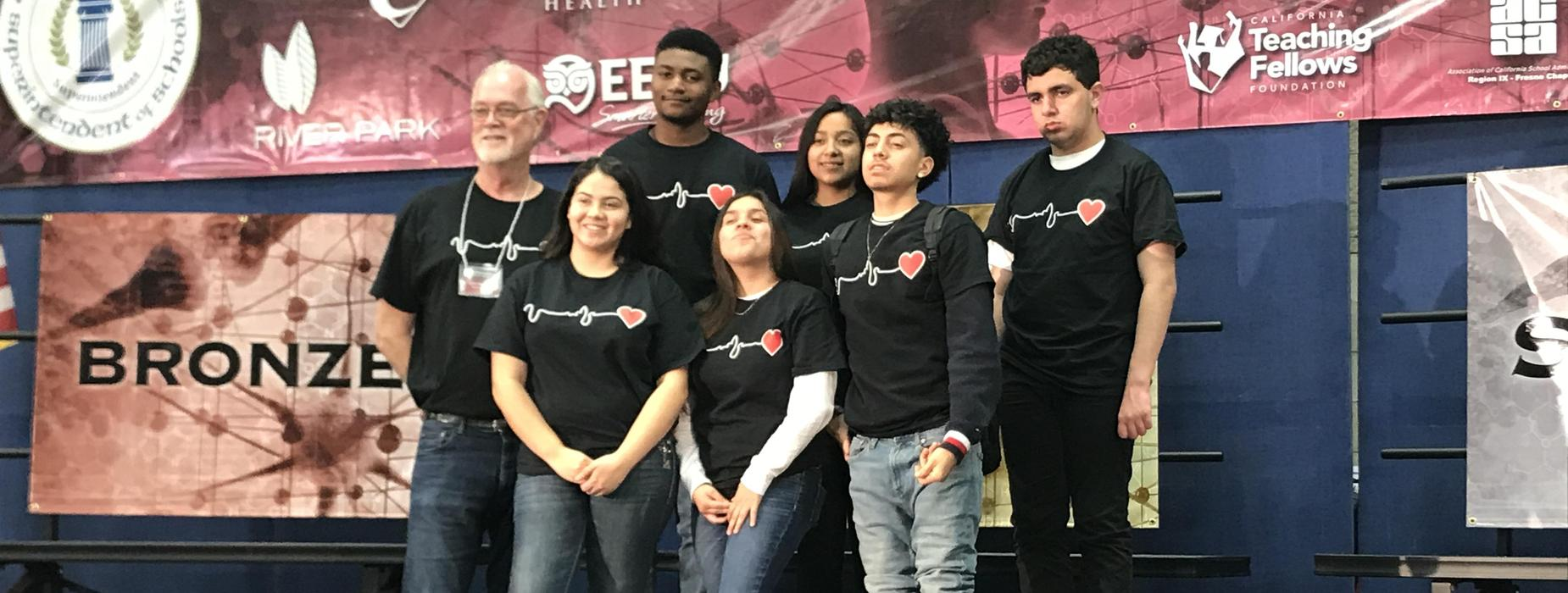 Pershing's 2020 Academic Decathlon Team