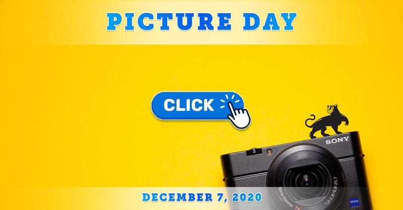 Picture Day Monday, December 7th for TK-12th Grade from 9:00 AM - 2:00 PM