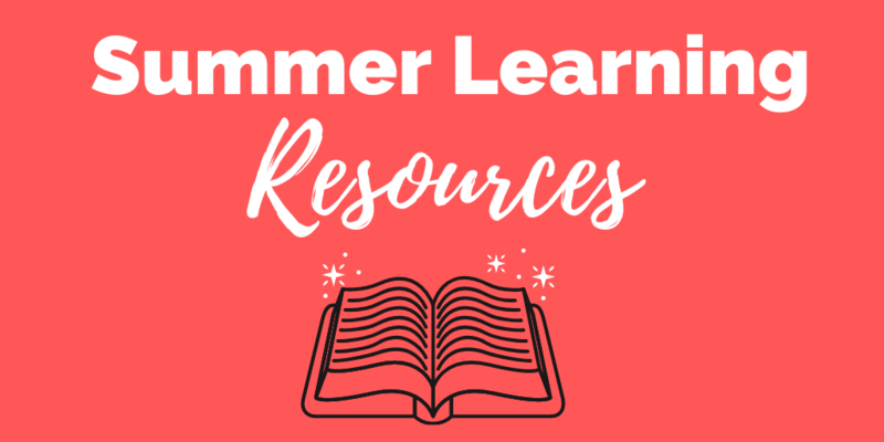 Summer Learning Resources Thumbnail Image