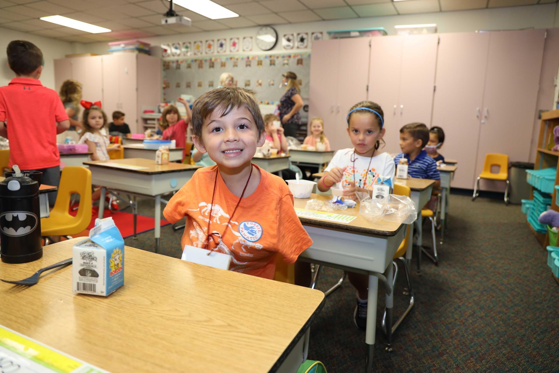 Fairmont Elementary students return to school