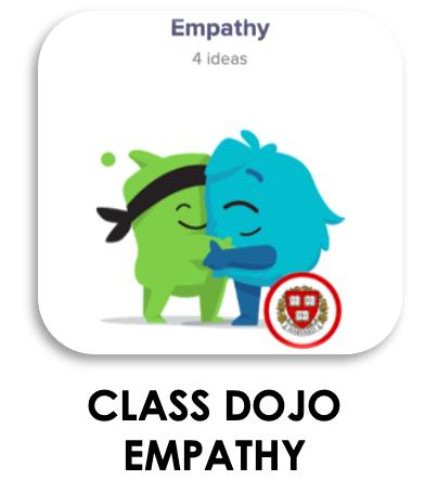 Class Dojo Empathy