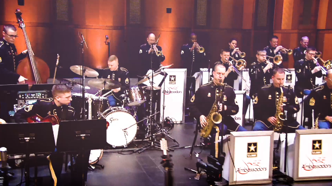 picture of US Army Jazz Ambassadors