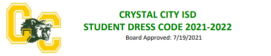 2021-2022 Student Dress Code Featured Photo