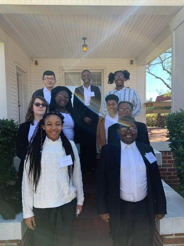 N.R. Burger Students Attend Central District Competition Featured Photo