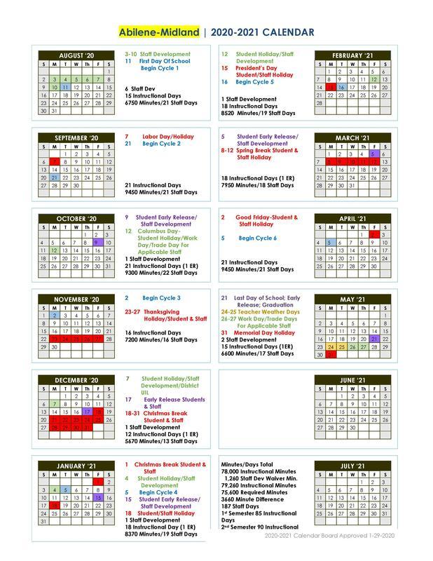 2010-2021 Abilene and Midland TLCA School Calendar_ Board Approved on 1-29-2020.jpg