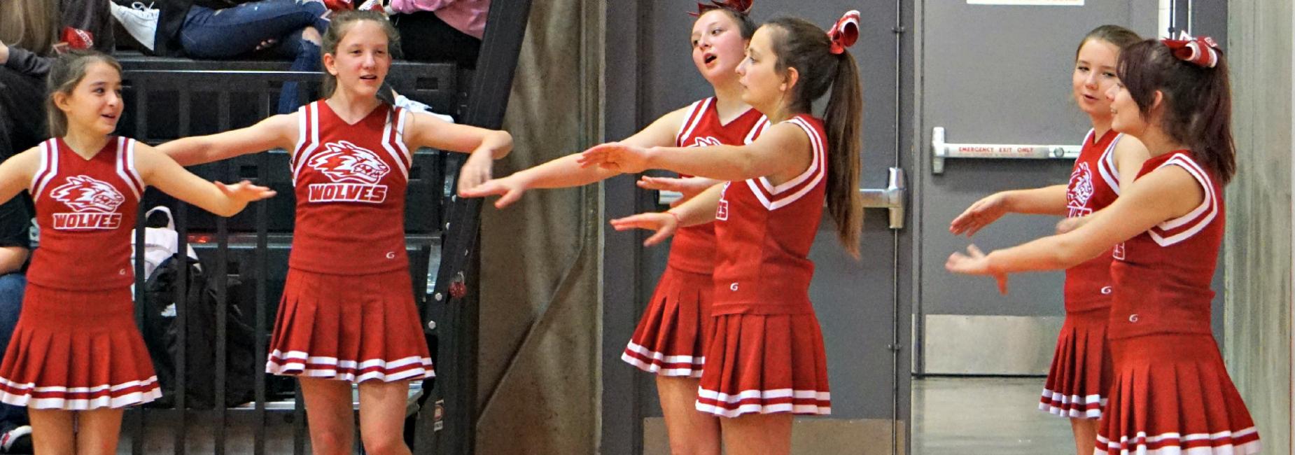 RSMS cheerleaders