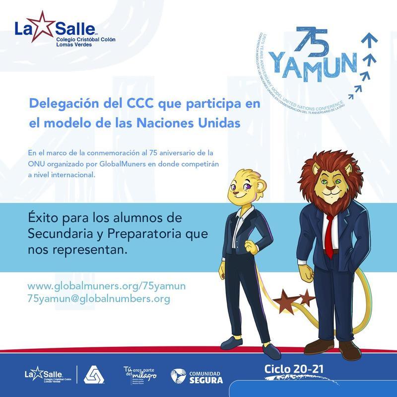 Delegación del CCC a Conferencia Modelo de las Naciones Unidad Thumbnail Image