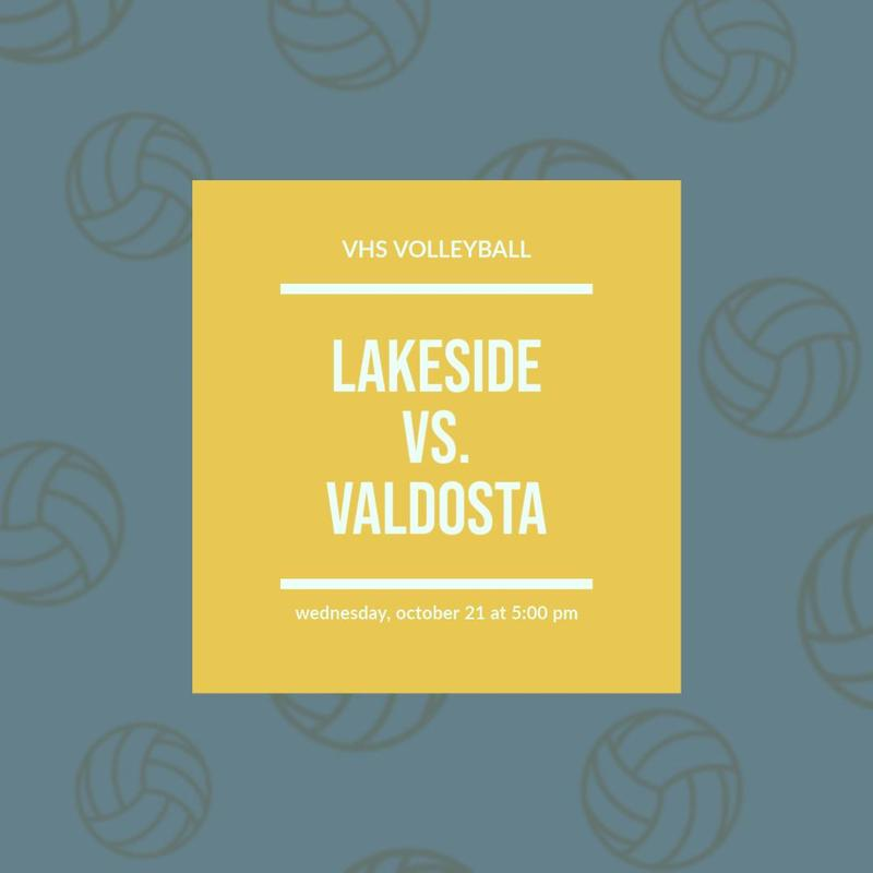 VHS Volleyball vs Lakeside info
