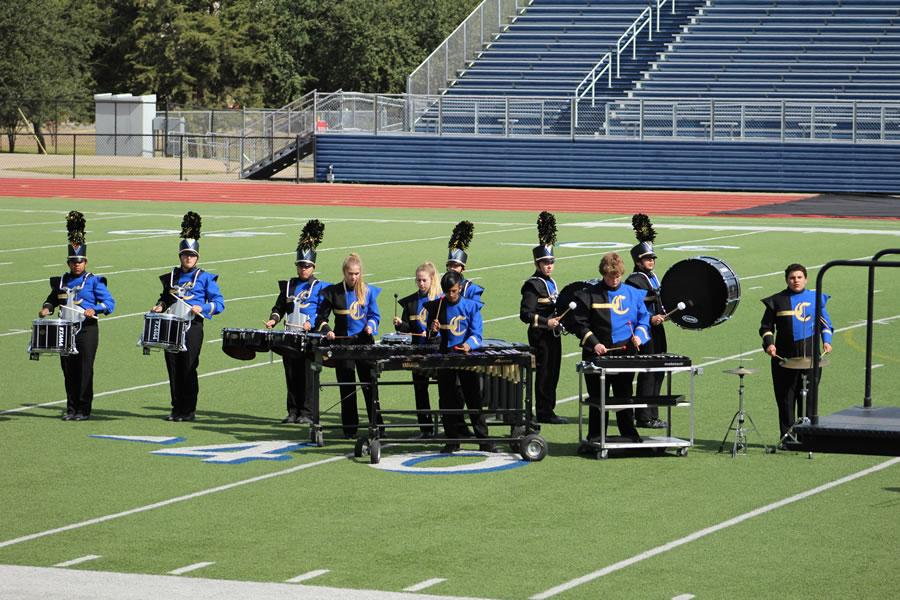 CHS Band @Area Marching Competition 2017