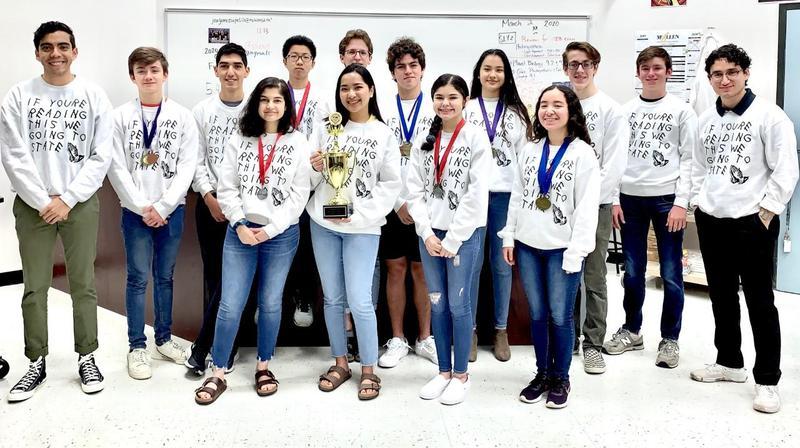 Lamar science olympiad team