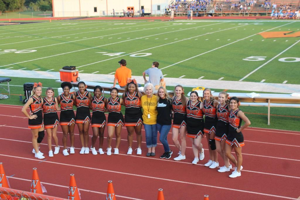 Panther Cheerleaders 2018