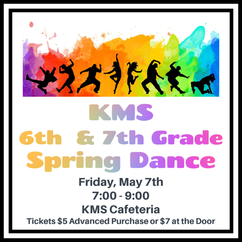 6th and 7th Grade Spring Dance Featured Photo