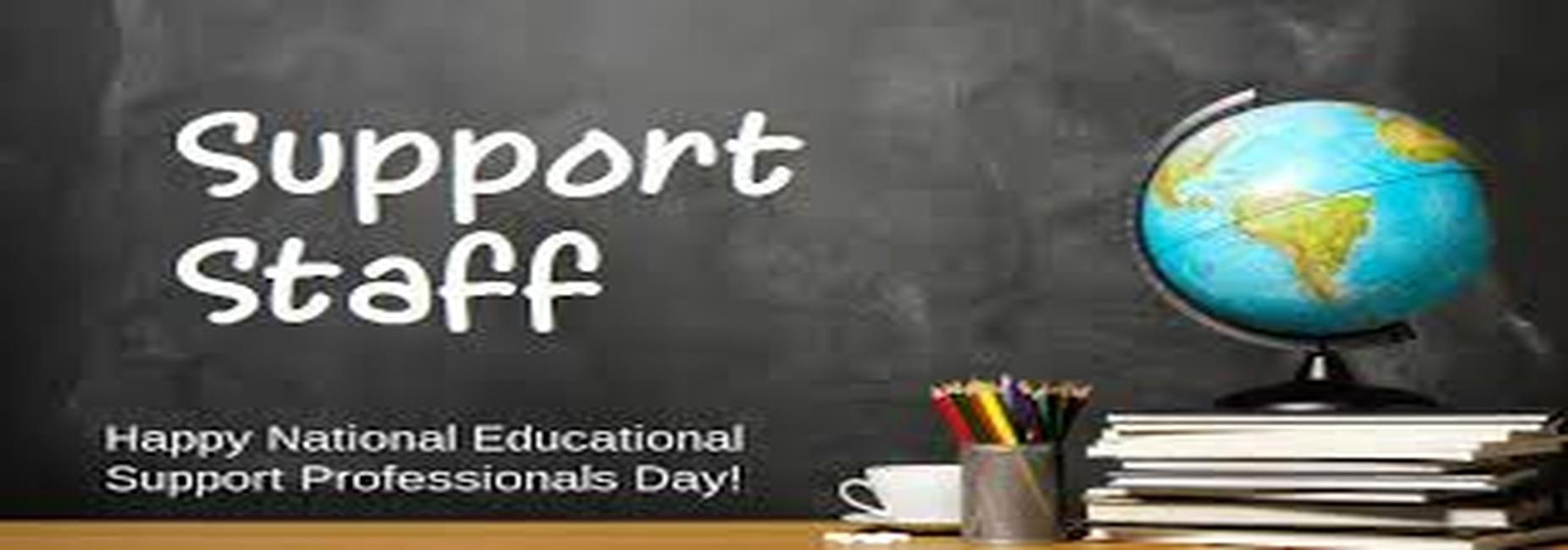 a graphic promoting National Education Support Day