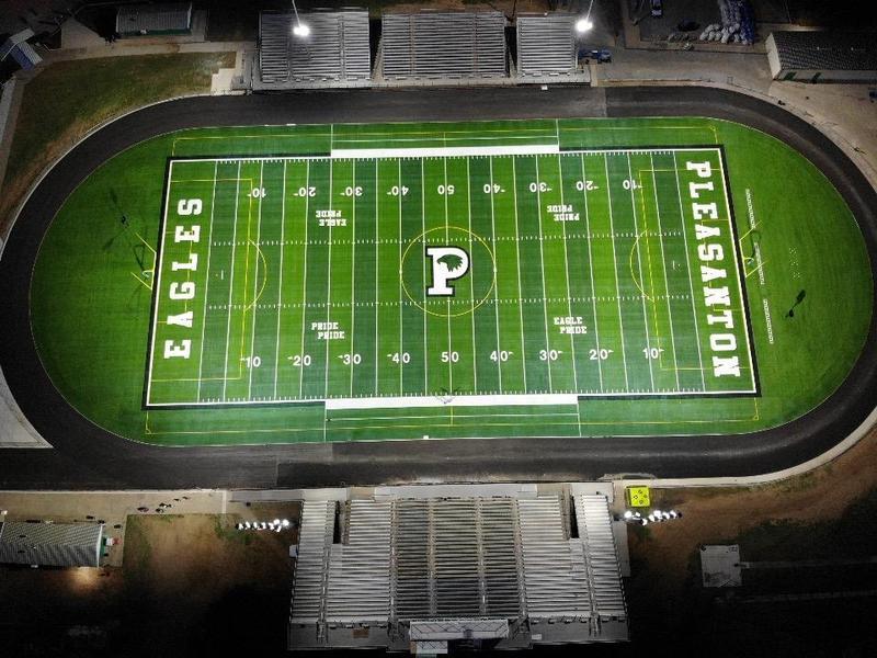 Pleasanton ISD field