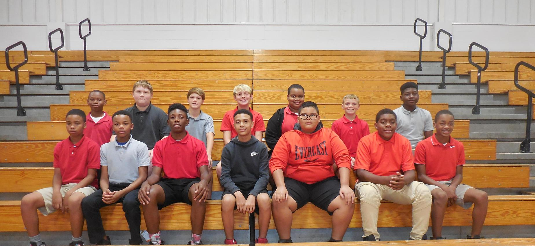 Picture of the 7th grade football team