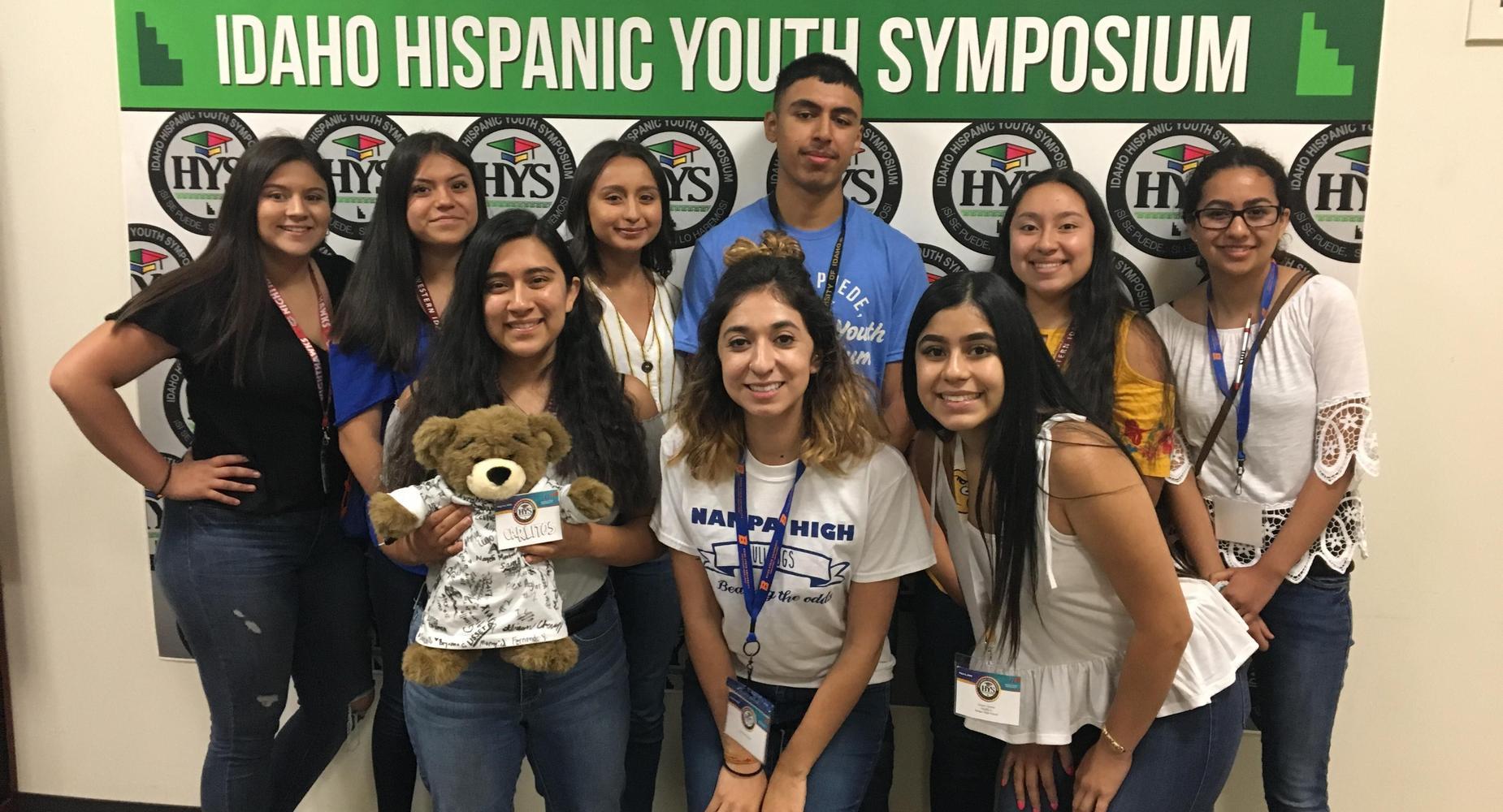 Hispanic Youth Symposium Group Photo