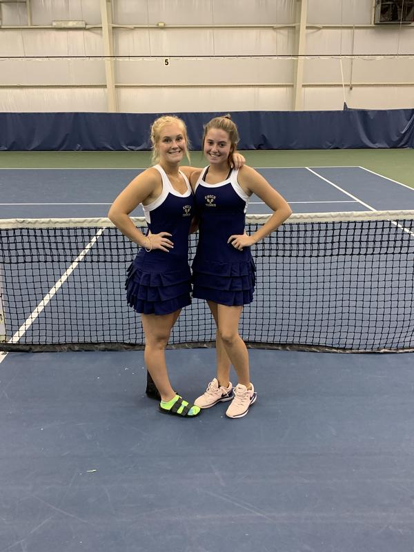 Pic of Libby Conlon and Abby Bauer