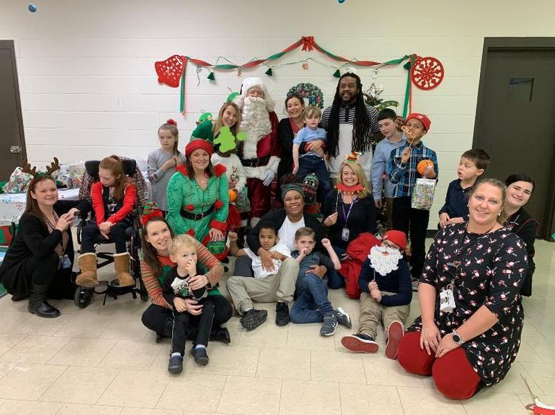 Sensory Santa Event Brings Joy to Somerset County Students Featured Photo