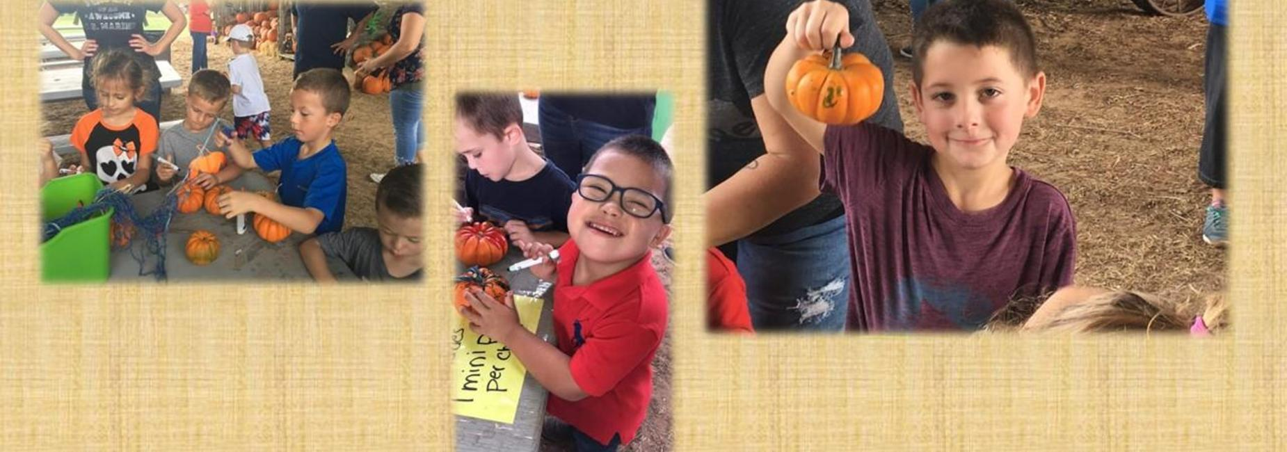 Kinder at the Pumpkin Patch 3 pics